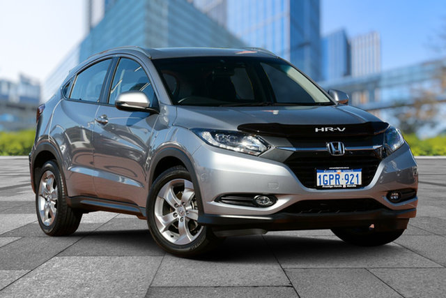Used Honda HR-V MY17 VTi-S, 2018 Honda HR-V MY17 VTi-S Lunar Silver 1 Speed Constant Variable Hatchback