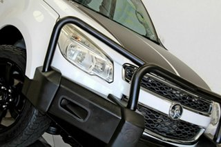 2013 Holden Colorado RG LX (4x2) White 5 Speed Manual Crew Cab Chassis.
