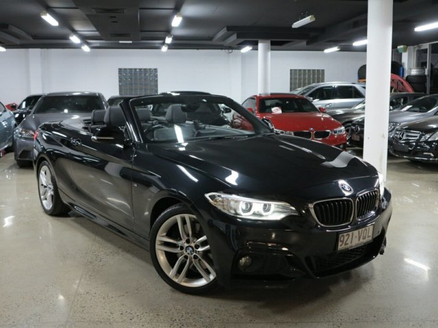 Used BMW 2 Series F23 , 2015 BMW 2 Series F23 Black Sapphire 8 Speed Sports Automatic Convertible
