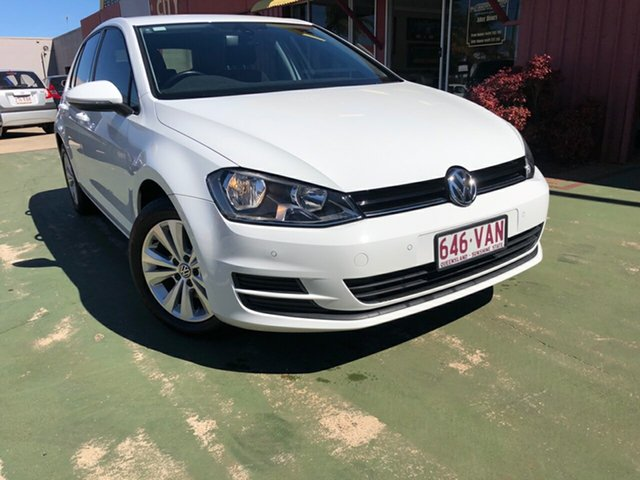 Used Volkswagen Golf VII MY14 90TSI DSG Comfortline, 2014 Volkswagen Golf VII MY14 90TSI DSG Comfortline 7 Speed Sports Automatic Dual Clutch Hatchback