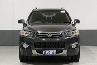 2012 Holden Captiva CG Series II 7 LX (4x4) Grey 6 Speed Automatic Wagon.