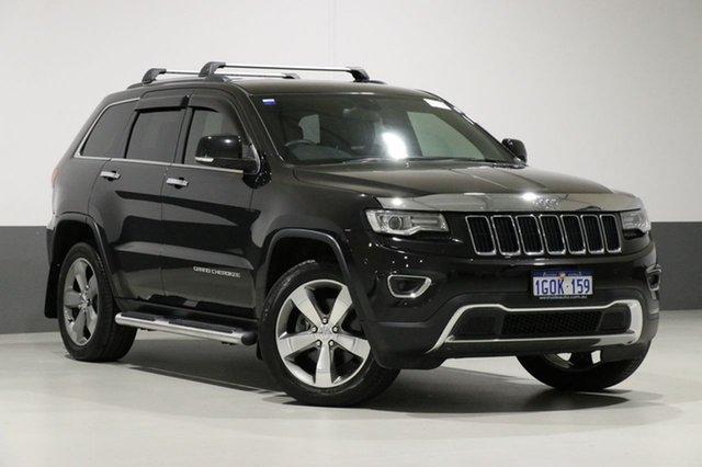 Used Jeep Grand Cherokee WK MY14 Limited (4x4), 2014 Jeep Grand Cherokee WK MY14 Limited (4x4) Black 8 Speed Automatic Wagon