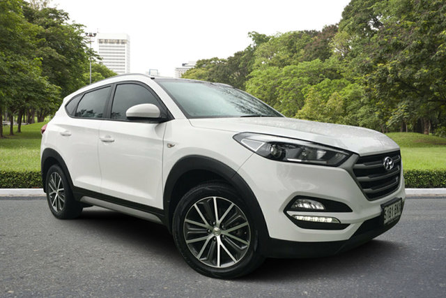Used Hyundai Tucson TL Active X 2WD, 2016 Hyundai Tucson TL Active X 2WD White 6 Speed Sports Automatic Wagon