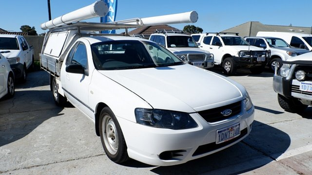 Used Ford Falcon BF XL Super Cab, 2006 Ford Falcon BF XL Super Cab White 4 Speed Sports Automatic Cab Chassis