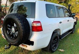 2015 Toyota Landcruiser VDJ200R MY13 GX White 6 Speed Sports Automatic Wagon.