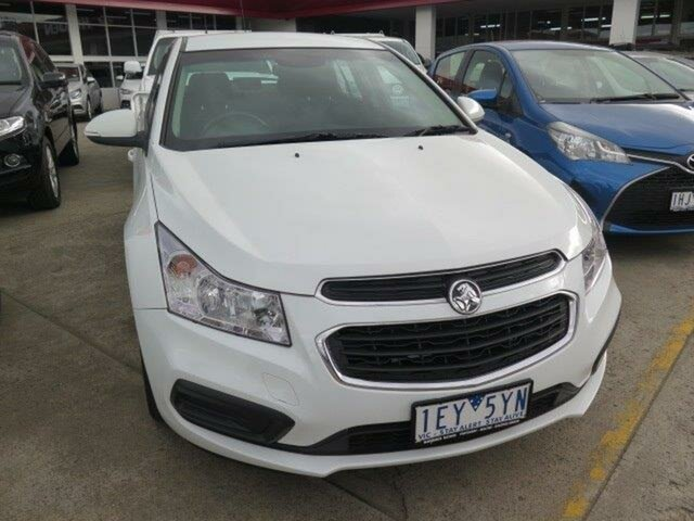 Used Holden Cruze JH Series II MY15 Equipe, 2015 Holden Cruze JH Series II MY15 Equipe White 6 Speed Sports Automatic Hatchback