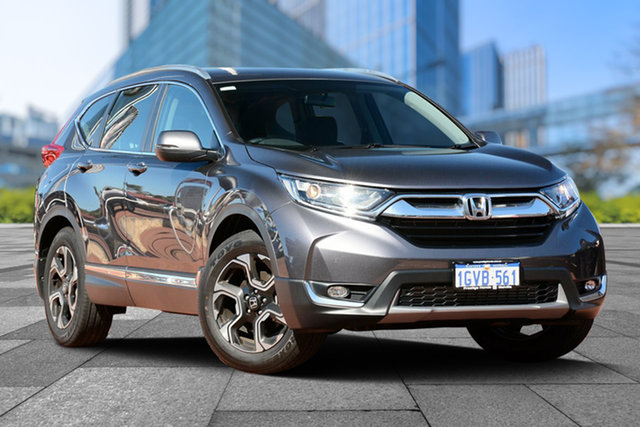 Demo Honda CR-V RW MY19 VTi-S FWD, 2019 Honda CR-V RW MY19 VTi-S FWD Modern Steel 1 Speed Constant Variable Wagon