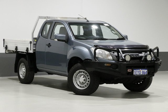 Used Isuzu D-MAX TF MY15 SX (4x4), 2015 Isuzu D-MAX TF MY15 SX (4x4) Blue 5 Speed Manual Space Cab Chassis