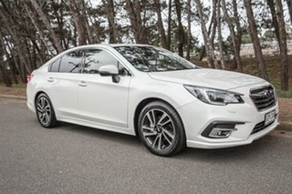 2018 Subaru Liberty B6 MY18 2.5i CVT AWD Premium Crystal White Pearl 6 Speed Constant Variable Sedan.