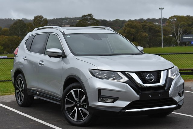 Used Nissan X-Trail T32 Series II Ti X-tronic 4WD, 2018 Nissan X-Trail T32 Series II Ti X-tronic 4WD Silver 7 Speed Constant Variable Wagon