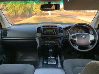 2015 Toyota Landcruiser VDJ200R MY13 GX White 6 Speed Sports Automatic Wagon