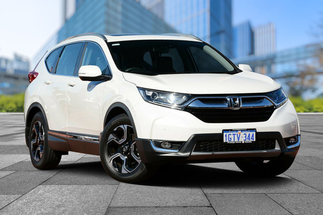 Used Honda CR-V RW MY19 VTi-L FWD, 2018 Honda CR-V RW MY19 VTi-L FWD White Orchid 1 Speed Constant Variable Wagon