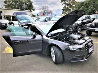 2013 Audi A5 8T MY14 Sportback Multitronic Grey 8 Speed Constant Variable Hatchback
