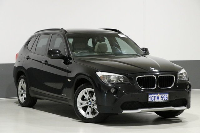 Used BMW X1 E84 sDrive 18I, 2010 BMW X1 E84 sDrive 18I Black 6 Speed Automatic Wagon