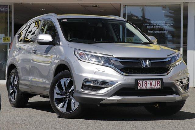 Used Honda CR-V RM MY15 VTi-L 4WD, 2014 Honda CR-V RM MY15 VTi-L 4WD Silver 5 Speed Sports Automatic Wagon