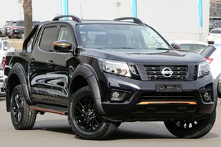 2020 Nissan Navara D23 S4 MY20 N-TREK Cosmic Black 6 Speed Manual Utility.