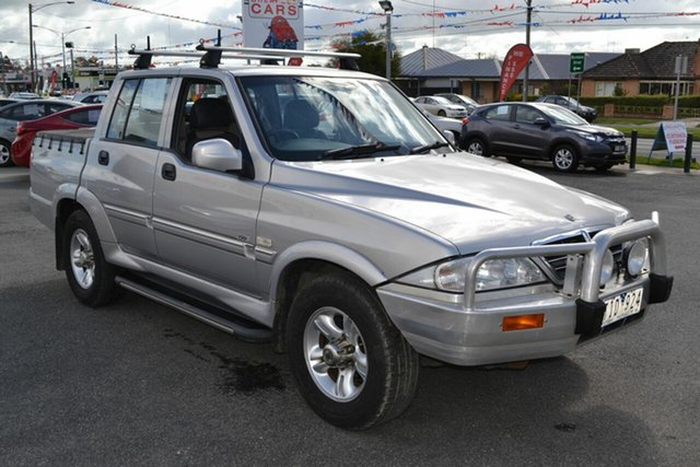 Used Ssangyong Musso  Sports (4x4), 2004 Ssangyong Musso Sports (4x4) Silver 4 Speed Automatic Dual Cab Pick-up