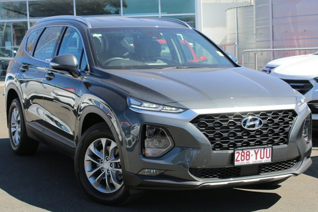 Used Hyundai Santa Fe TM MY19 Active, 2018 Hyundai Santa Fe TM MY19 Active Green 8 Speed Sports Automatic Wagon