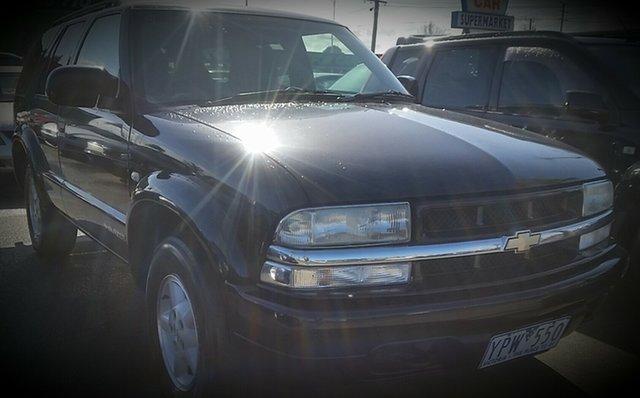 Used Chevrolet Blazer  , 2002 Chevrolet Blazer Black Wagon