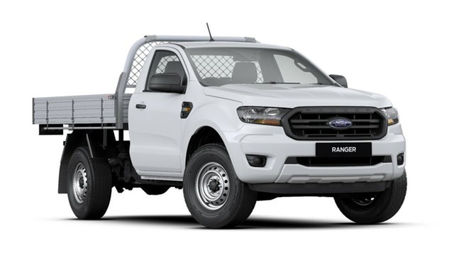New Ford Ranger PX MkIII 2019.00MY XL, 2019 Ford Ranger PX MkIII 2019.00MY XL Arctic White 6 Speed Sports Automatic Cab Chassis