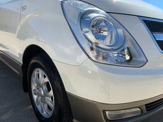 2010 Hyundai iMAX TQ-W White 4 Speed Automatic Wagon.