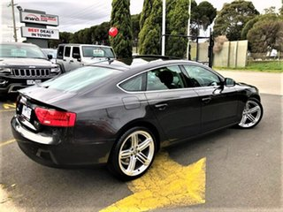 2013 Audi A5 8T MY14 Sportback Multitronic Grey 8 Speed Constant Variable Hatchback.