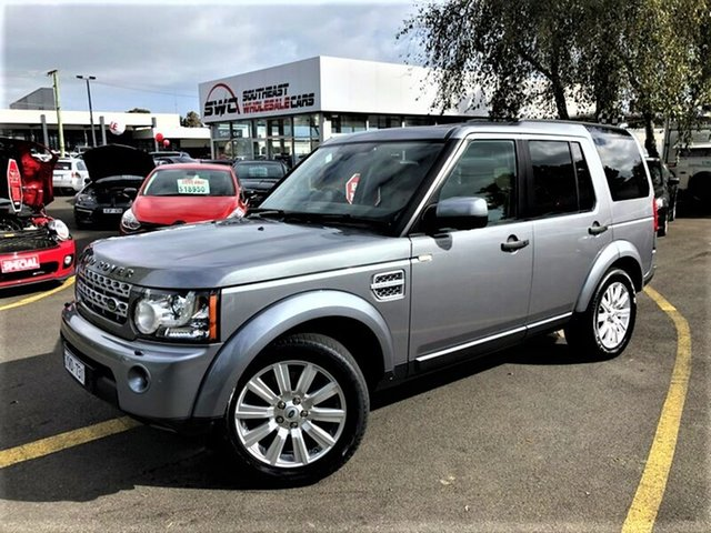 Used Land Rover Discovery 4 Series 4 MY12 SDV6 CommandShift HSE, 2012 Land Rover Discovery 4 Series 4 MY12 SDV6 CommandShift HSE Grey 6 Speed Sports Automatic Wagon