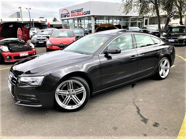 Used Audi A5 8T MY14 Sportback Multitronic, 2013 Audi A5 8T MY14 Sportback Multitronic Grey 8 Speed Constant Variable Hatchback