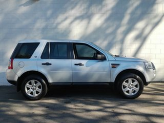 2007 Land Rover Freelander 2 LF Td4 SE Silver 6 Speed Sports Automatic Wagon
