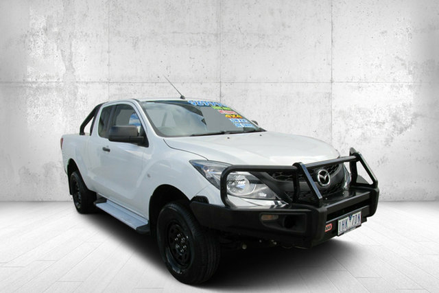 Used Mazda BT-50 XT XT Freestyle, 2016 Mazda BT-50 XT XT Freestyle White 6 Speed Automatic Utility