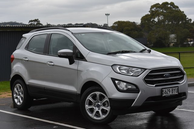 Used Ford Ecosport BL Trend, 2018 Ford Ecosport BL Trend Silver 6 Speed Automatic Wagon