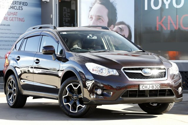 Used Subaru XV MY13 2.0I, 2012 Subaru XV MY13 2.0I Chestnut Continuous Variable Wagon