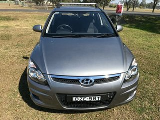2011 Hyundai i30 FD MY11 SX Grey 4 Speed Automatic Hatchback
