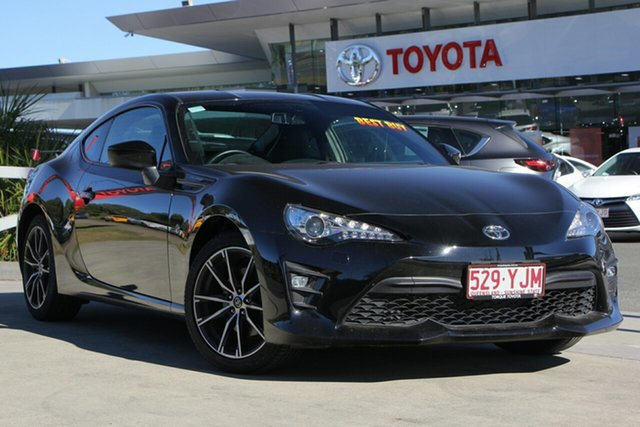 Used Toyota 86 ZN6 GTS, 2018 Toyota 86 ZN6 GTS Storm Black 6 Speed Sports Automatic Coupe
