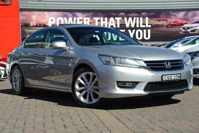 Used Honda Accord 9th Gen MY13 VTi-L, 2013 Honda Accord 9th Gen MY13 VTi-L Silver 5 Speed Sports Automatic Sedan
