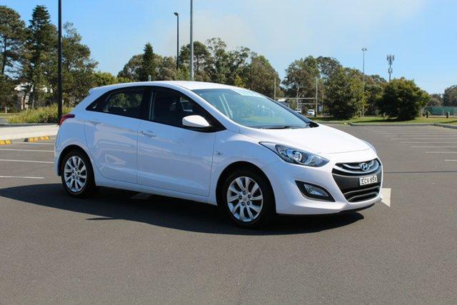 Used Hyundai i30 GD2 Active, 2014 Hyundai i30 GD2 Active Creamy White 6 Speed Sports Automatic Hatchback