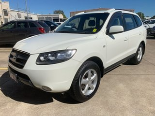 2007 Hyundai Santa Fe CM MY07 SLX White 5 Speed Sports Automatic Wagon