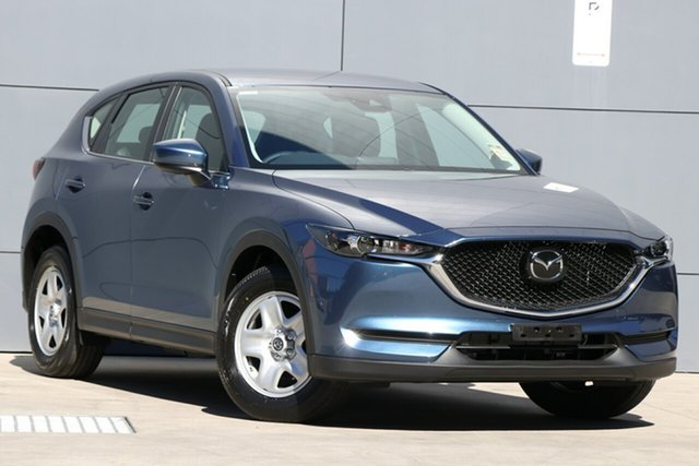 New Mazda CX-5 KF2W7A Maxx SKYACTIV-Drive FWD, 2019 Mazda CX-5 KF2W7A Maxx SKYACTIV-Drive FWD Eternal Blue 6 Speed Sports Automatic Wagon