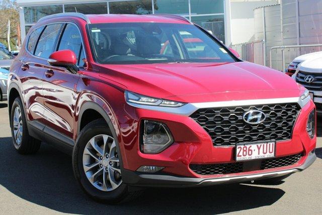 Used Hyundai Santa Fe TM MY19 Active, 2018 Hyundai Santa Fe TM MY19 Active Red 8 Speed Sports Automatic Wagon