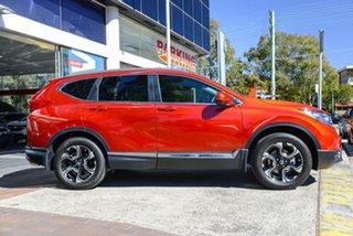 2019 Honda CR-V RW MY19 VTi-LX 4WD Passion Red 1 Speed Constant Variable Wagon.