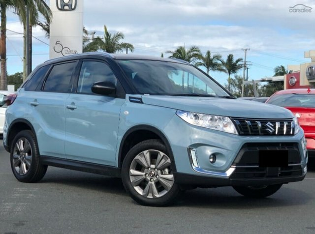 Demo Suzuki Vitara LY Series II 2WD, 2019 Suzuki Vitara LY Series II 2WD Greyish Blue 6 Speed Sports Automatic Wagon