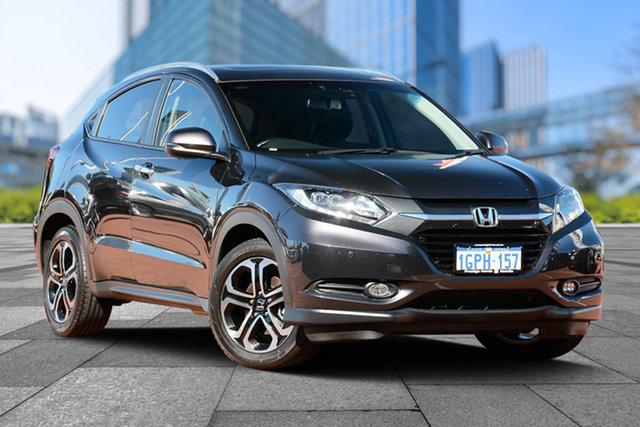 Used Honda HR-V MY17 VTi-L, 2018 Honda HR-V MY17 VTi-L Ruse Black 1 Speed Constant Variable Hatchback