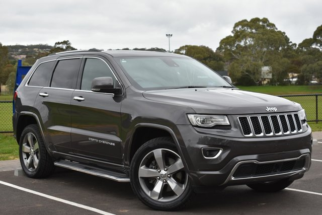 Used Jeep Grand Cherokee WK MY2013 Overland, 2013 Jeep Grand Cherokee WK MY2013 Overland Grey 6 Speed Sports Automatic Wagon