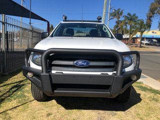 2015 Ford Ranger PX XL 2.2 (4x4) White 6 Speed Manual Cab Chassis