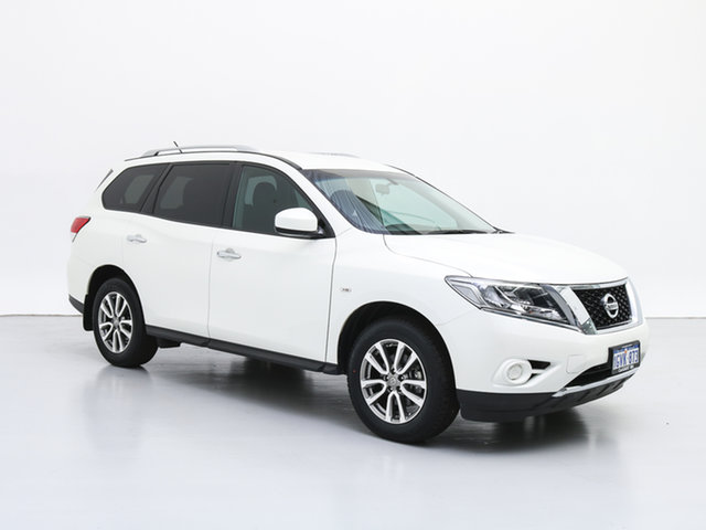 Used Nissan Pathfinder R52 MY17 Series 2 ST (4x2), 2017 Nissan Pathfinder R52 MY17 Series 2 ST (4x2) White Continuous Variable Wagon