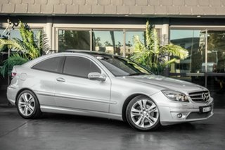 2009 Mercedes-Benz CLC-Class CL203 CLC200 Kompressor Evolution Silver 5 Speed Automatic Coupe.
