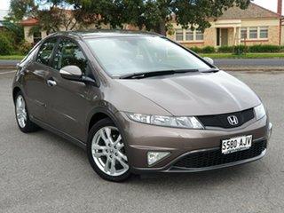 2011 Honda Civic 8th Gen MY11 SI Urban Titanium 5 Speed Automatic Hatchback.