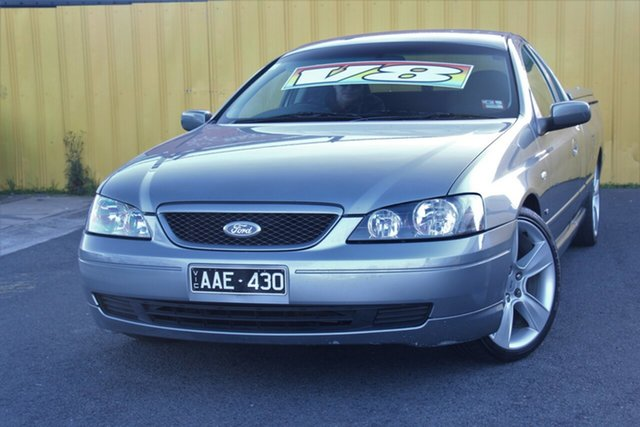 Used Ford Falcon BA XLS Ute Super Cab, 2003 Ford Falcon BA XLS Ute Super Cab Grey 4 Speed Sports Automatic Utility