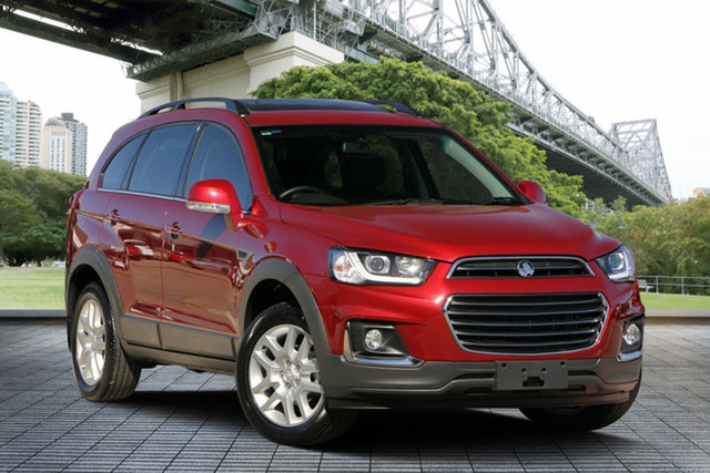 Used Holden Captiva CG MY17 Active 2WD, 2016 Holden Captiva CG MY17 Active 2WD Red 6 Speed Sports Automatic Wagon