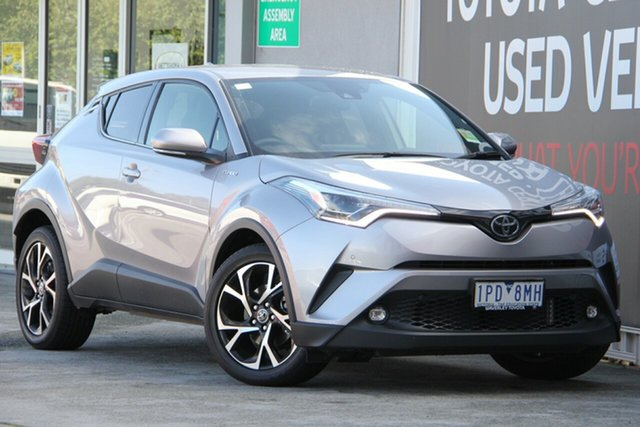 Used Toyota C-HR NGX10R Koba S-CVT 2WD, 2018 Toyota C-HR NGX10R Koba S-CVT 2WD Shadow Platinum 7 Speed Constant Variable Wagon